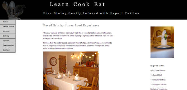 Learn Cook Eat